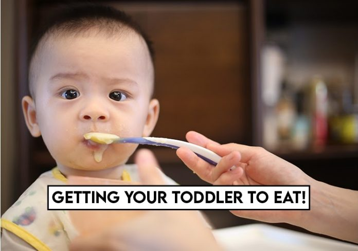 Getting your toddler to eat!