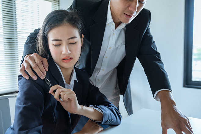 workplace harassment, workplace stress, stress management, sexual harassment